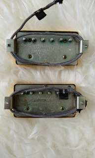Bare Knuckle The Mule Humbucker Gold Relic Cover Pickup Set