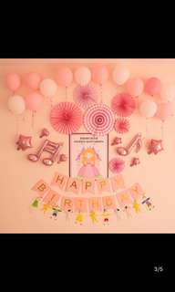 13 pieces Happy birthday bunting