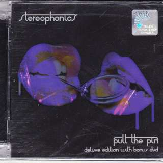 STEREOPHONICS Pull The Pin Deluxe Edition CD Bonus DVD