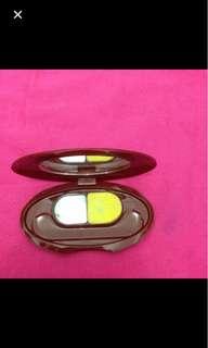 ORI Shiseido yellow eyeshadow