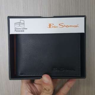 🔥CLEARANCE🔥 Authentic Ben Sherman Leather Bifold Wallet