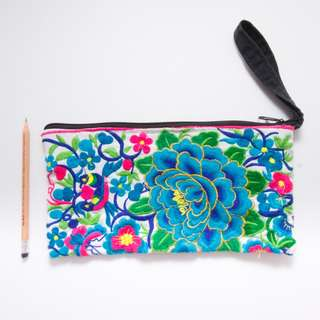 Beautiful Embroidered Clutch from Chiang Mai, Thailand