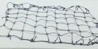 4x4 pickup rear cargo net