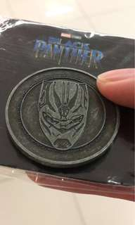 Marvel Black Panther GSC coin collection