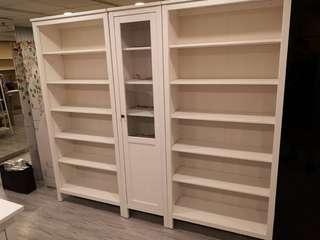 Ikea白色書架/書櫃