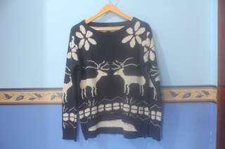 SALE Preloved Sweater rusa