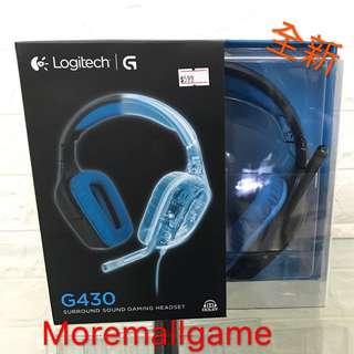 全新Logitech G430 Gaming 專用耳機連咪