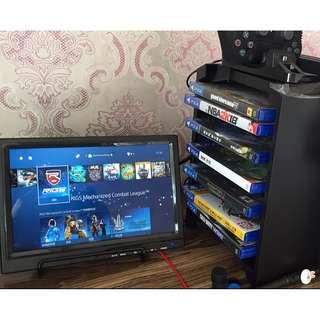 全新高畫質PS4 Xbox One Switch PS3 Xbox360 機頂盒可用10寸顯示器 HDMI monitor 全新 私人玩God of war