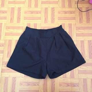 Highwaist garter shorts