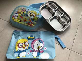 Brand new Pororo Lunch boxes