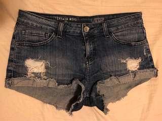 Vans Distressed Denim Shorts