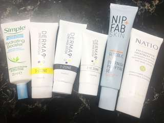 Assorted Face Products