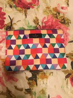 Kate Spade Geometric Make Up Bag
