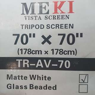 Projector Screen - Premium Quality
