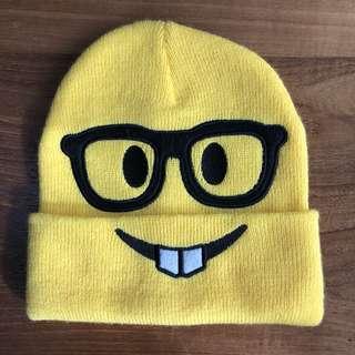 Emoji 🤓 Knit Beanie 冷帽