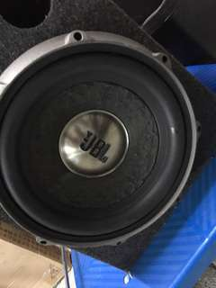 JBL Subwoofer and 2 Unit Ampli Set