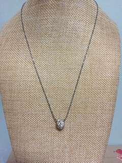 Brand new crystal glass Pendent with chain