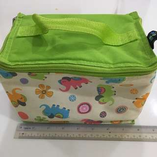 Insulated lunch breastmilk temporary storage bag