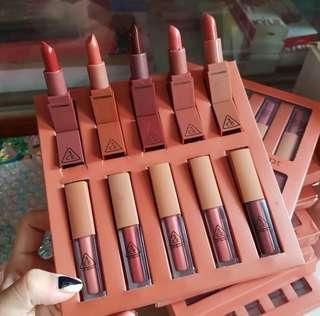 Lipstick dan Lipcream 3CE