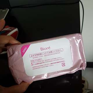 Biore cleansing sheet cleanser