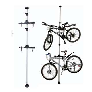 Dual Bicycle Tower Stand / Rack