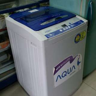Mesin cuci Aqua Neuro & fuzzy, japan 10Kg