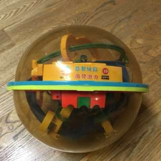 3D立體迷宮球
