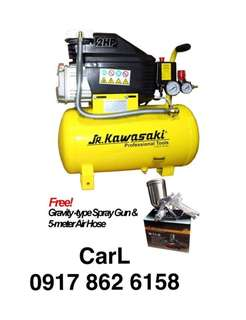 Jr Kawasaki 2 horsepower portable Air Compressor