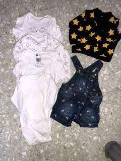 NEXT AND MOTHERCARE SET B