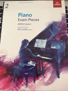 ABRSM grade 2 piano exam pieces 2017&2018 (usable for 2019 in Singapore)