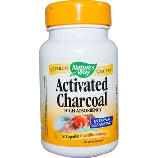 🚚 Nature's Way Activated Charcoal 100 Capsules