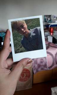 BTS JIN YF POLAROID PC OFFICIAL