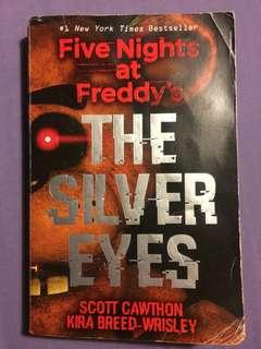 Five Nights at Freddy's The Silver Eyes - Scott Cawthon, Kira Breed-Wrisley