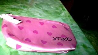 Xoxo Pouch - pink