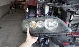 Replacement for Mazda 6 (2003-2008) Head Lamp Glass