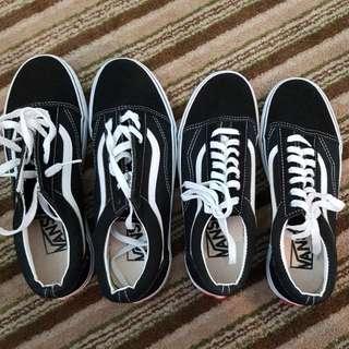 Old school vans shoes brand new