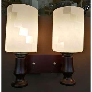LSH Classic Simple Double Head Decorative Wall Light 13633/2