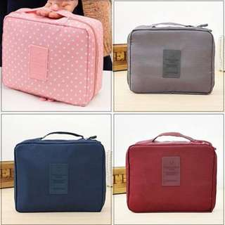 Compact Toiletries Bag For Travel