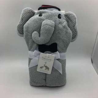 Animal Hooded Towel (Elephant)