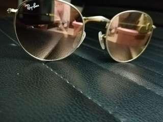 雷朋粉色太陽眼鏡