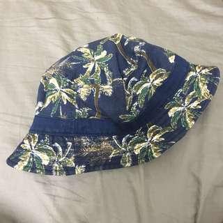 🚚 古著 椰子樹 漁夫帽