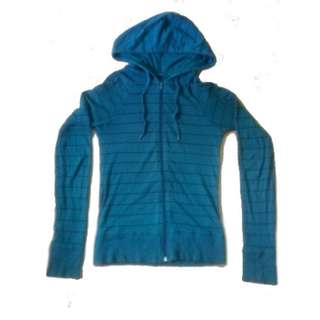 Ladies Hoodie Outdoor Workout Kids Women Jacket Hood Color Blue