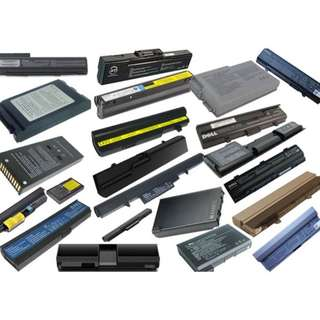 ALL LAPTOP BATTERIES & ADOPTERS (OEM)- $12 ONWARDS -CHEAPEST IN CITY