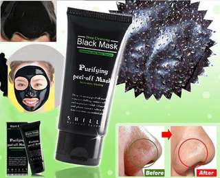 Black Mask Challenge!! Purifying peel Off mask for White heads And Black Heads