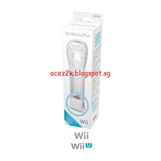 [BN] Wii Remote MotionPlus Attachment with Silicone Sleeve (Brand New In Box)