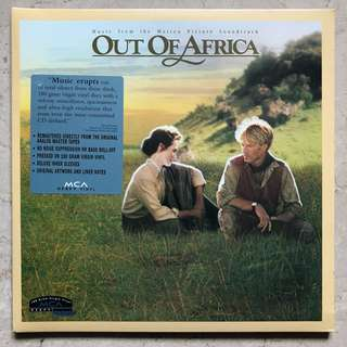 Out Of Africa OST Vinyl LP