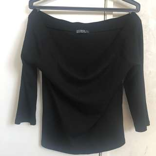 cotton on off the shoulder long sleeve