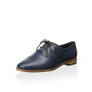 Leather Oxford in Ink Blue by Kate Spade Saturday