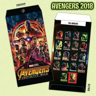 Sampul Duit Raya Avengers Infinity Wars