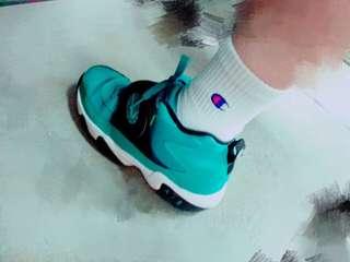 女鞋|泰瑞色籃球鞋24cm